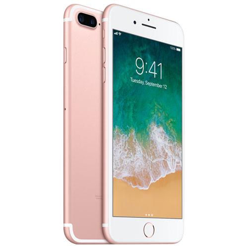 apple iphone 7plus 128gb rose gold